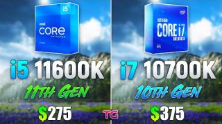 i5 11600K vs i7 10700K - Which CPU is Better for Gaming?