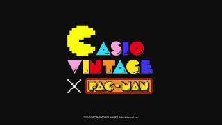 CASIO VINTAGE × PACMAN Collaboration model !!