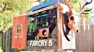 Project FARCRY 5 - ULTIMATE $4300 GIVEAWAY CUSTOM WATER COOLED GAMING PC - Time Lapse Ubisoft